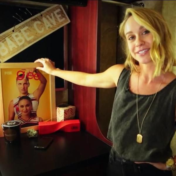 """""""Who's  is going to appreciate this more than me? Maybe Heather Morris? I can let her borrow it if she wants.""""-Becca"""