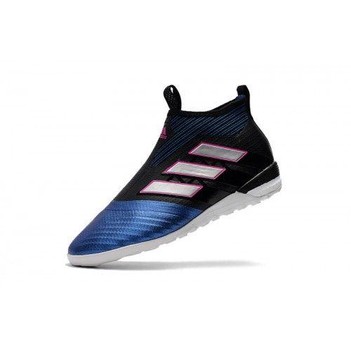new styles e0281 7491d Beste Adidas ACE Tango 17 Purecontrol TF Blaue Svart Fotball