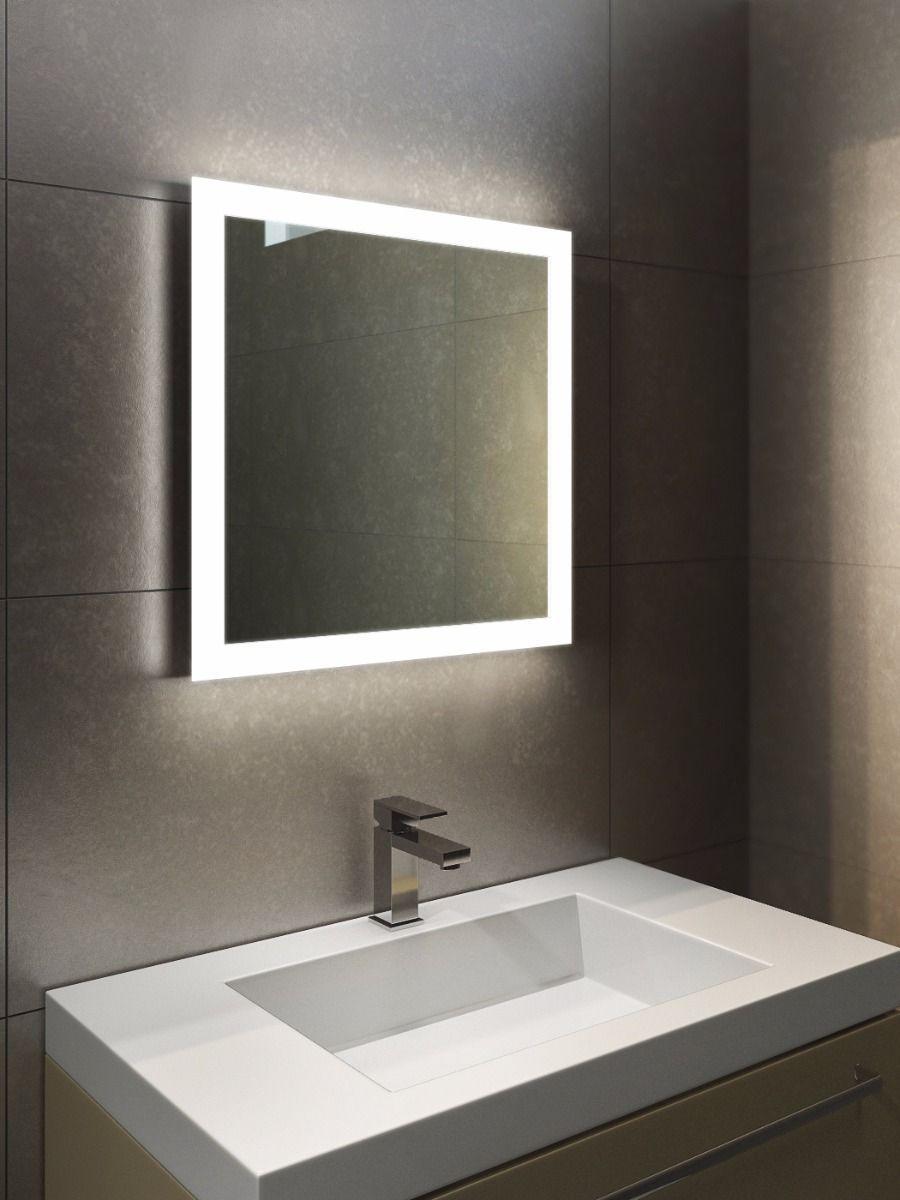 Bathroom Lights Range p>h:450 x w:450 x d:45mm halo range 1411</p> | bathroom