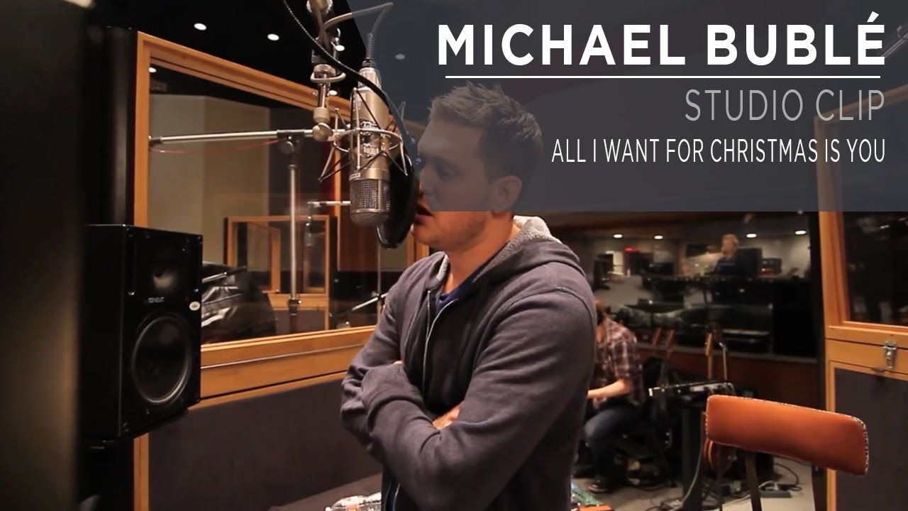Michael Buble All I Want For Christmas Is You Studio Clip