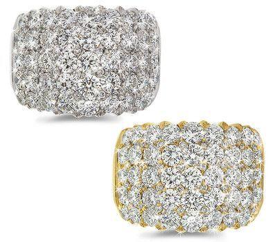 Diamond Cocktail Ring - 4.40 ctw.