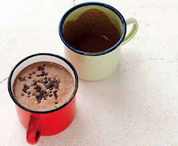 Chocolate Peanut Butter Hot Cocoa Sarah Wilson