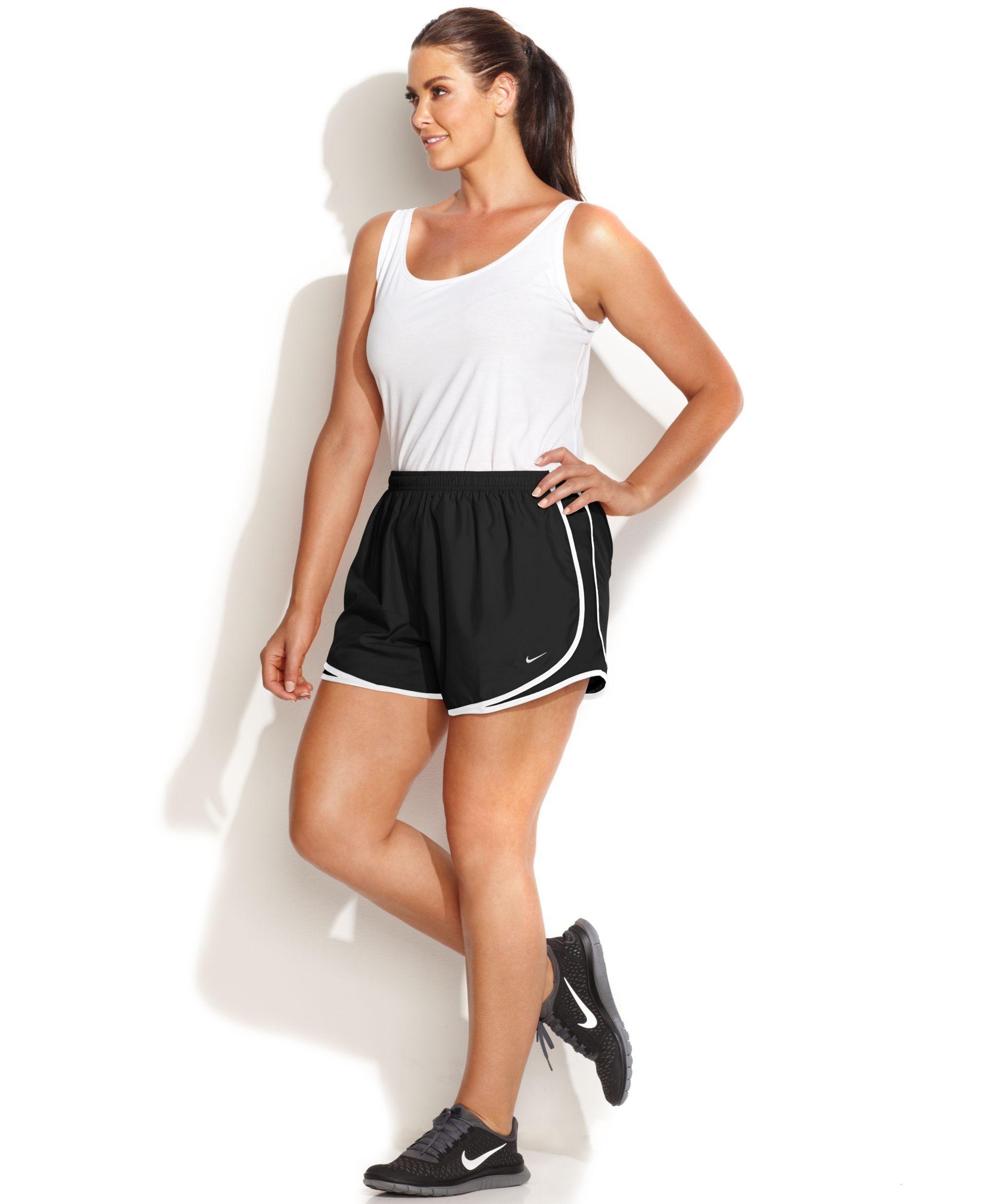c96429f4268 Plus Size Tempo Dri-FIT Track Shorts