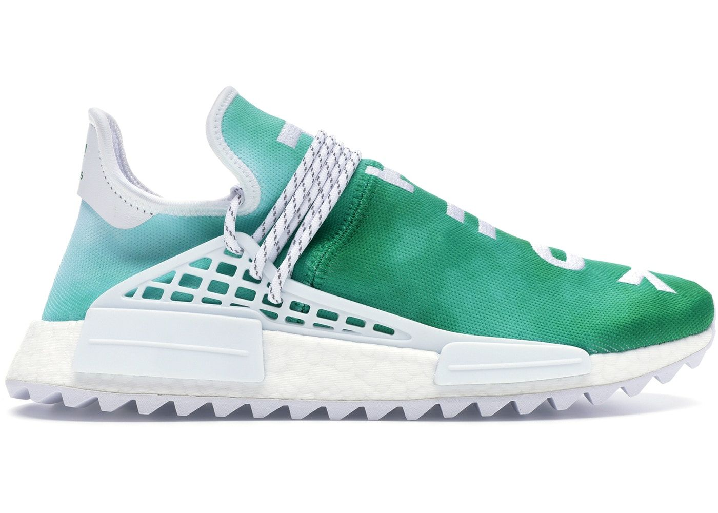 51198080 Check out the adidas Pharrell NMD HU China Pack Youth (Green) available on  StockX