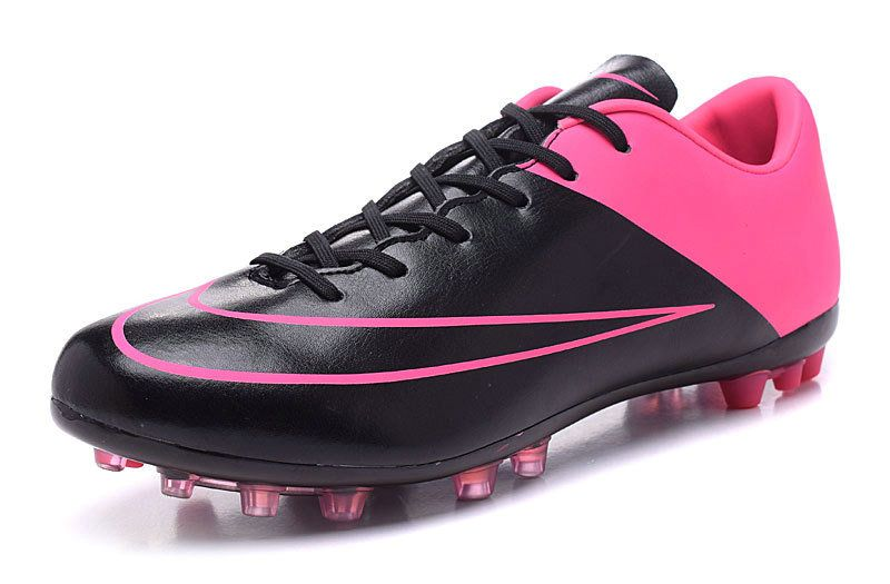 81ec1b5fc294 Nike Mercurial Superfly X CR7 AG 2018 World Cup Boots black pink ...