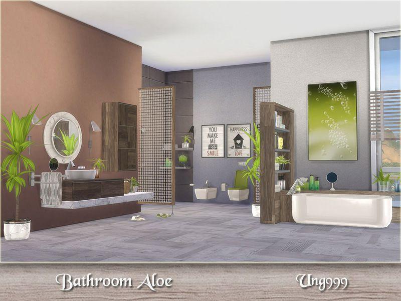 Addobbi Natalizi The Sims 3.Ung999 S Bathroom Aloe Sims 4 Houses Bathroom Sets Sims 4 Kitchen