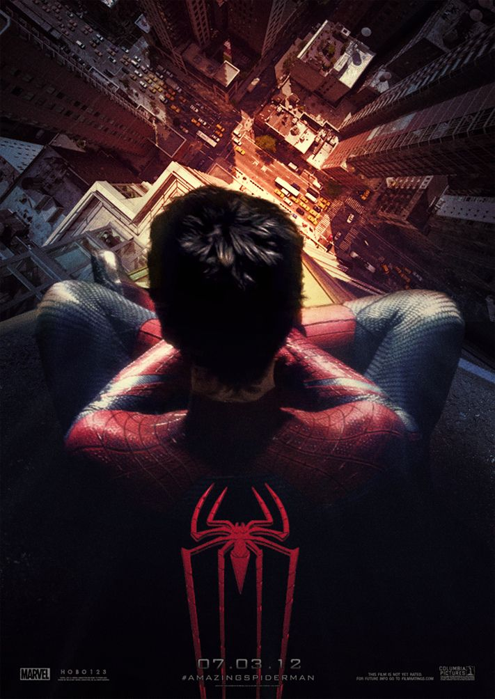 Fan made amazing spider man poster one of the few fan - Et spider man ...