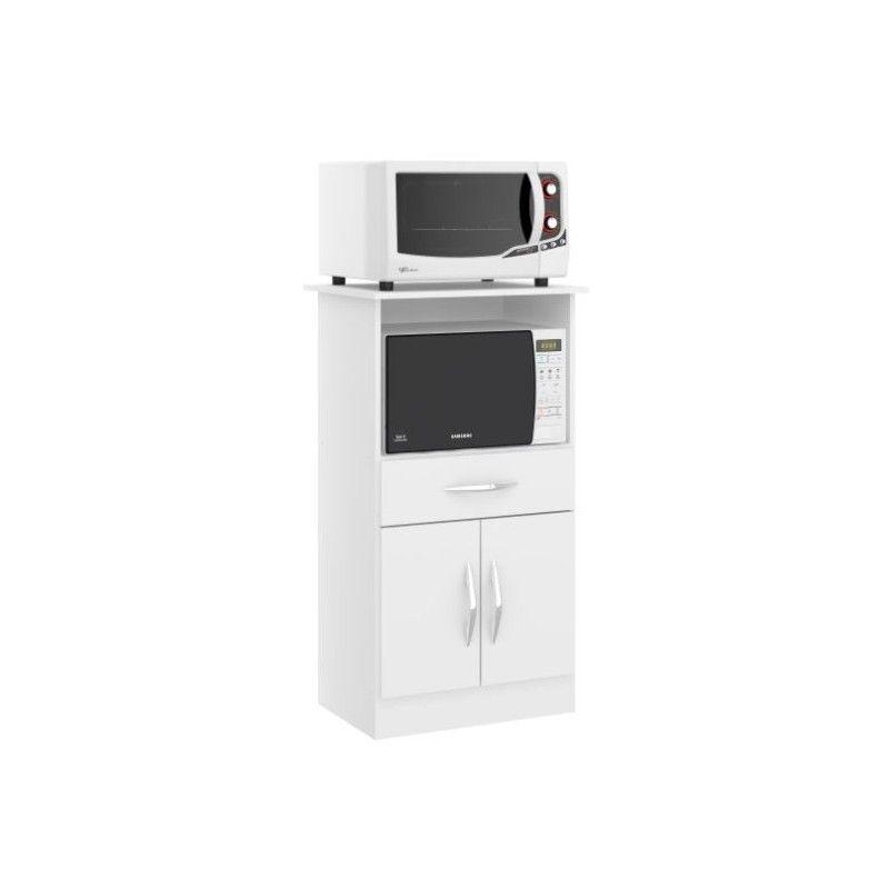 Trv Mueble Microondas Horno Eléctrico Blanco Muebles De Cocina De Madera Diseño Muebles De Cocina Muebles Microondas