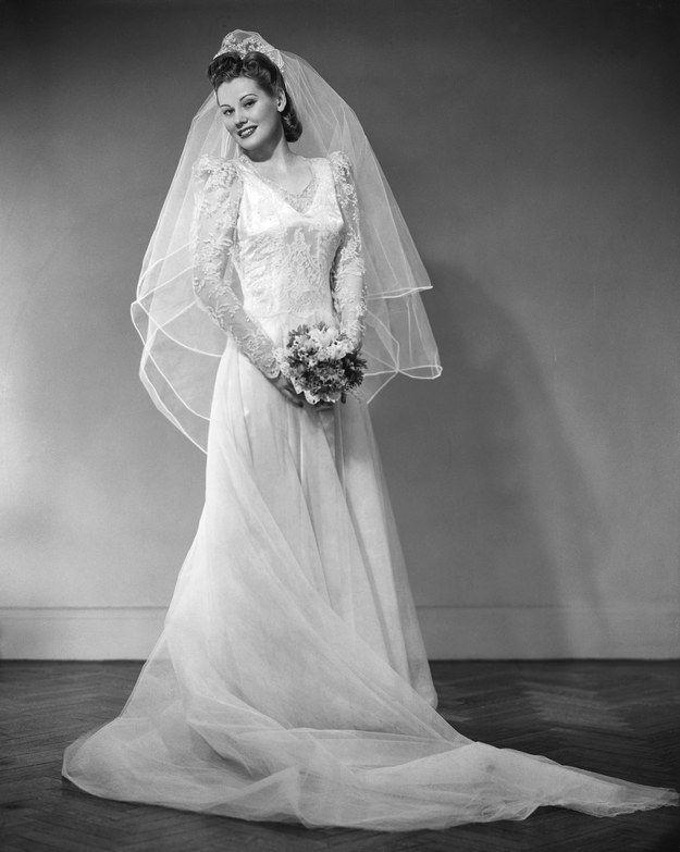 1950 | Vestido de novia clásico, El pasado y Vestidos de novia