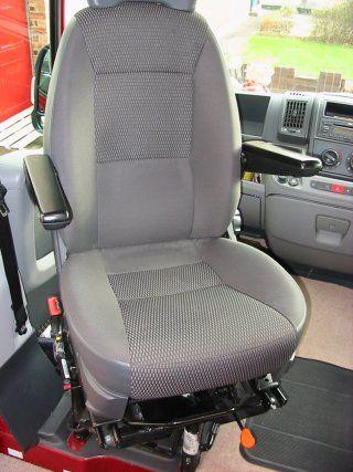 Passenger Cab Seat In Swivelled Position Diy Sofa Bed Camper Beds Bed