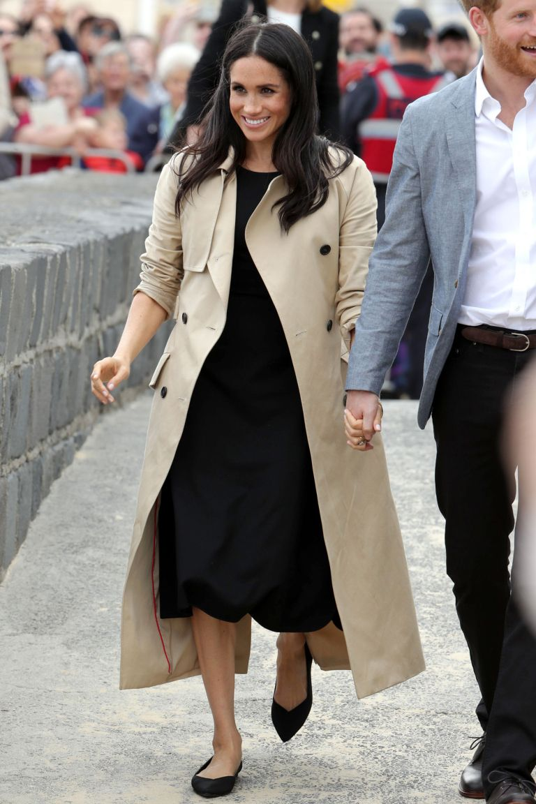 Meghan Markle And Kate Middleton S Go To Comfortable Shoes And
