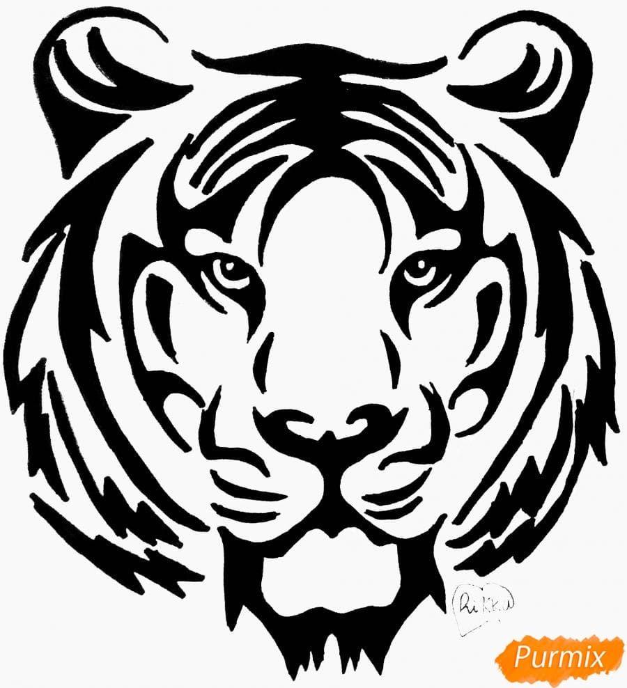 pin von irm auf zeichnen  malen  tiger malen tiger