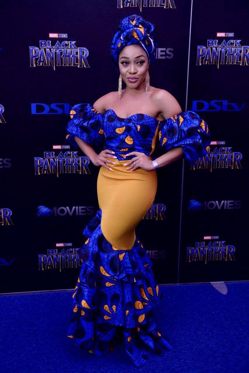 Thando Thabethe | So georgous!! | African prom dresses, African ...