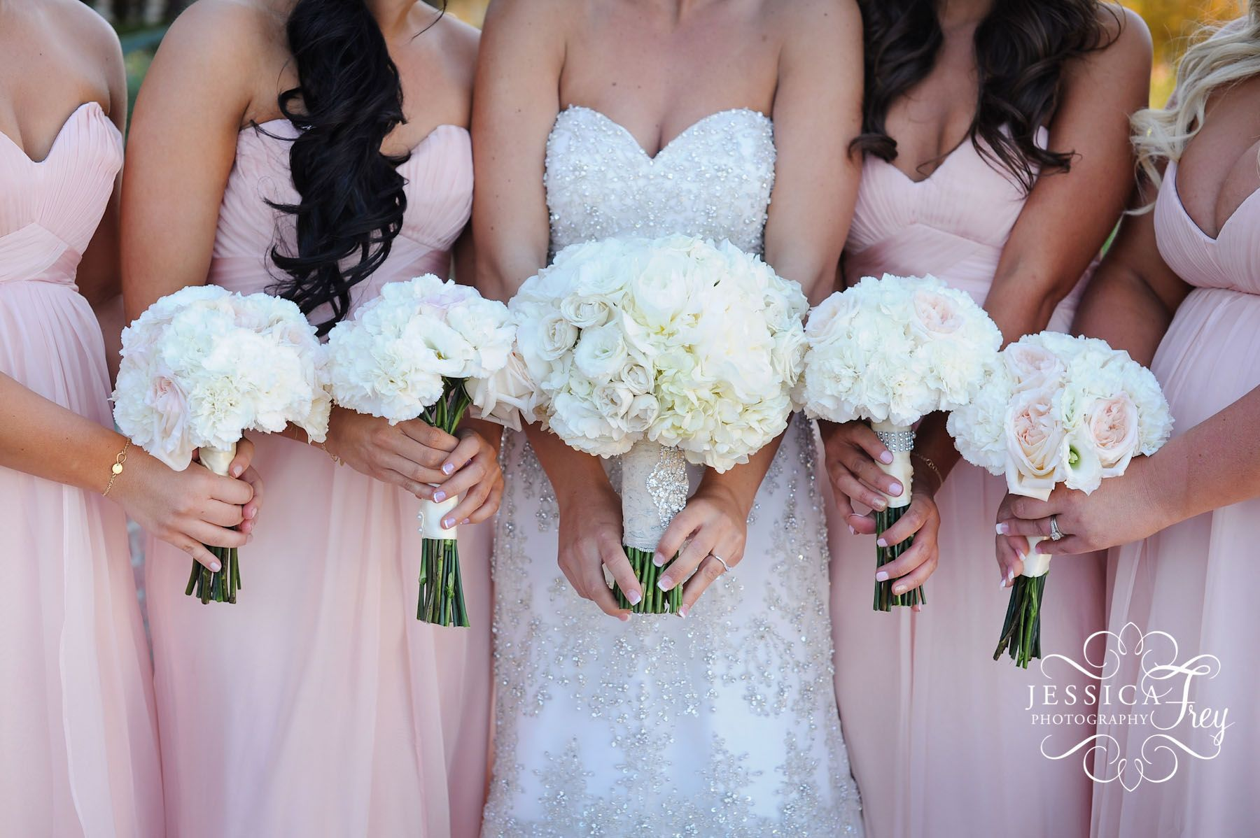 white and pink, rose and orchid wedding bouquet - Google Search ...