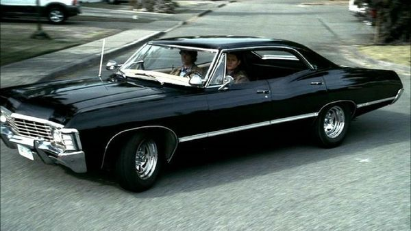 1967 Chevy Impala I Would Marry Dean Winchester In This Car
