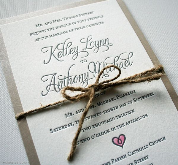 17 Best images about Convites – Country Chic Wedding Invitations