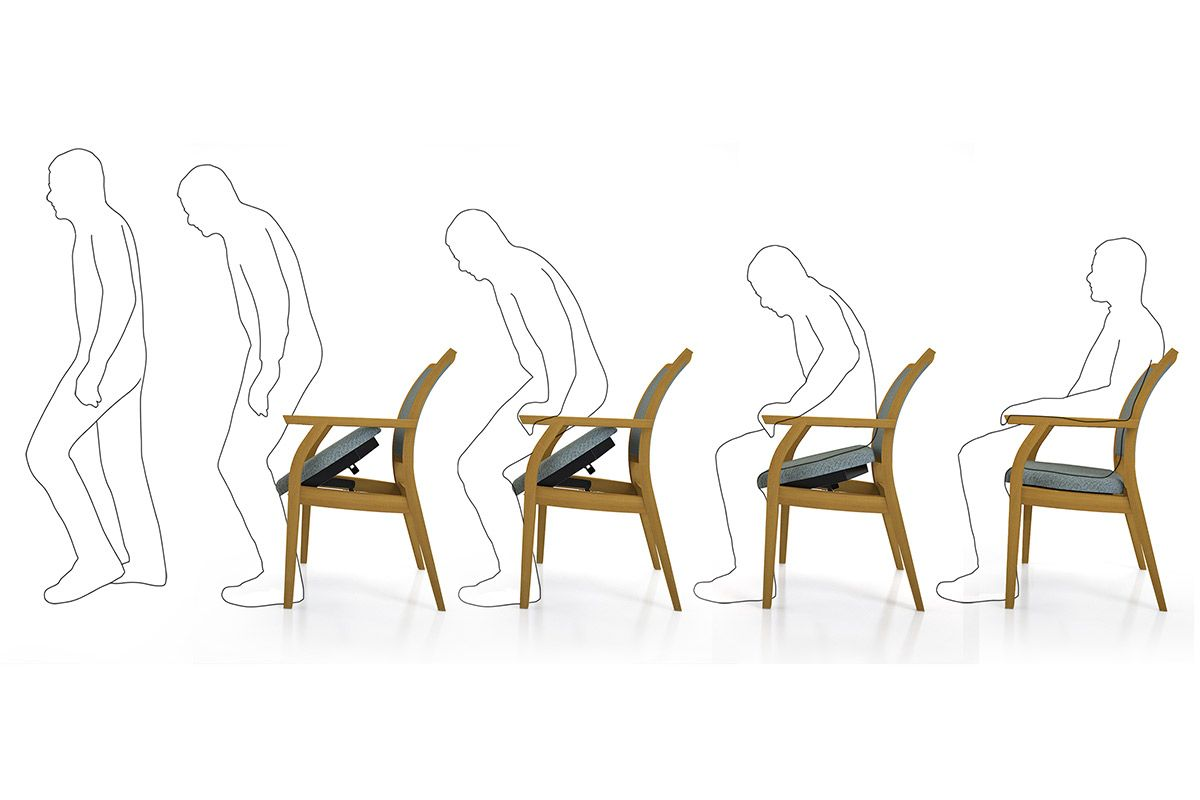 Healthcare | Furniture | Hetterich product design | easyUP chair | A ...