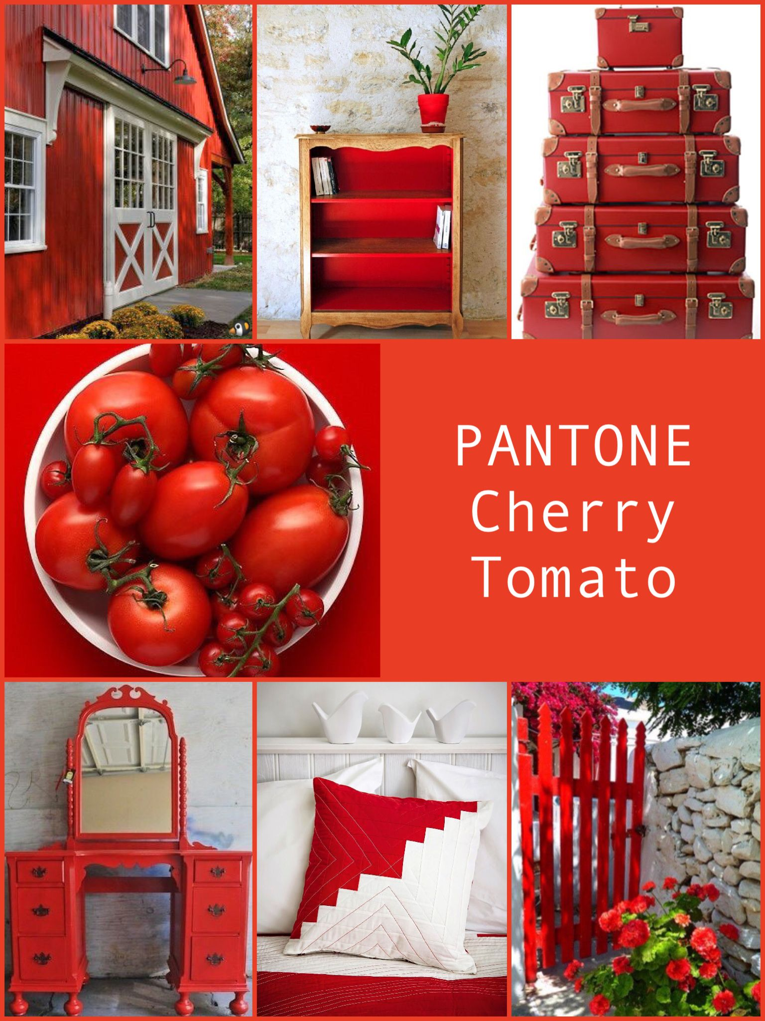 pantone cherry tomato home style pinterest pantone color pantone and pantone 2017. Black Bedroom Furniture Sets. Home Design Ideas