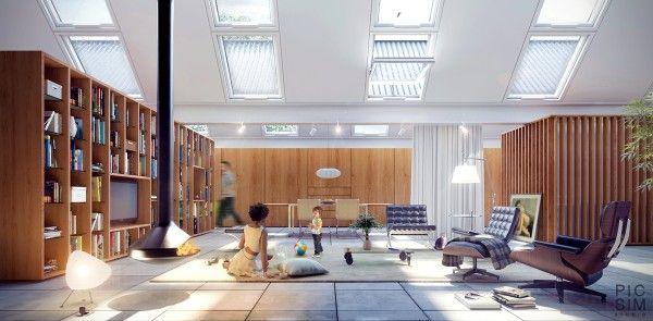 Wohnzimmer Gestaltungsideen   Haben Sie Ein Super Regal Für Alle Bücher?    Http: