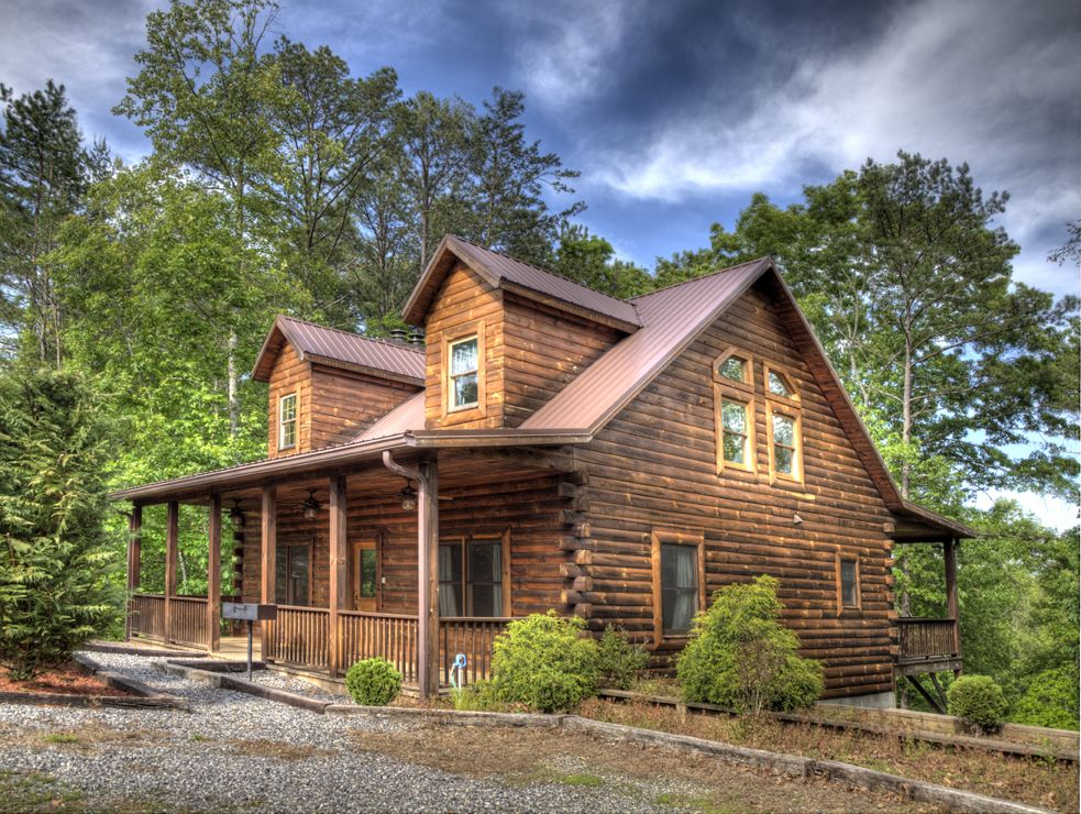 Oak ridge cabin hidden creek cabins beautiful four for Smoky mountain ridge cabins