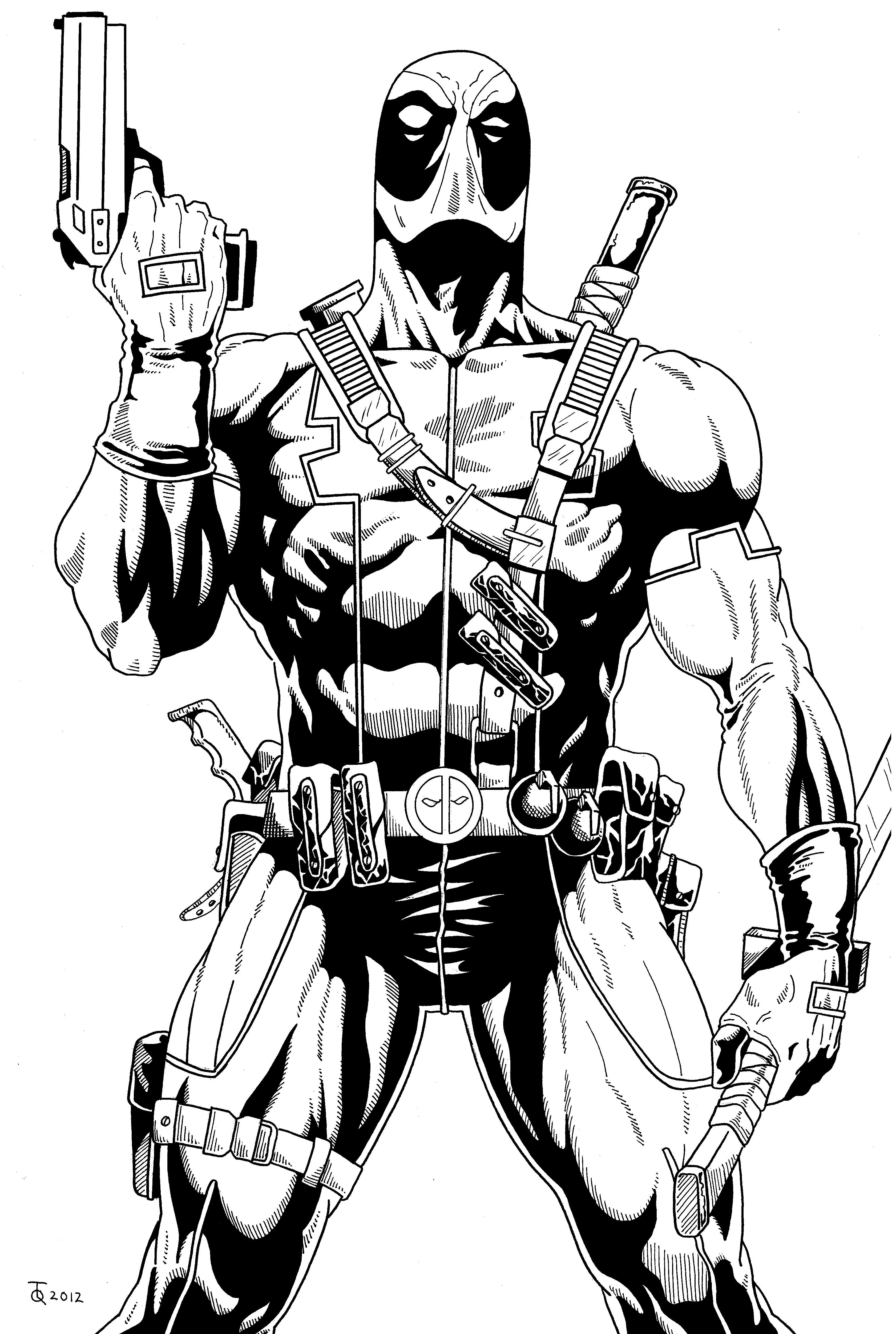 From the deadpool image and art archives marvel 39 s - Deadpool dessin ...