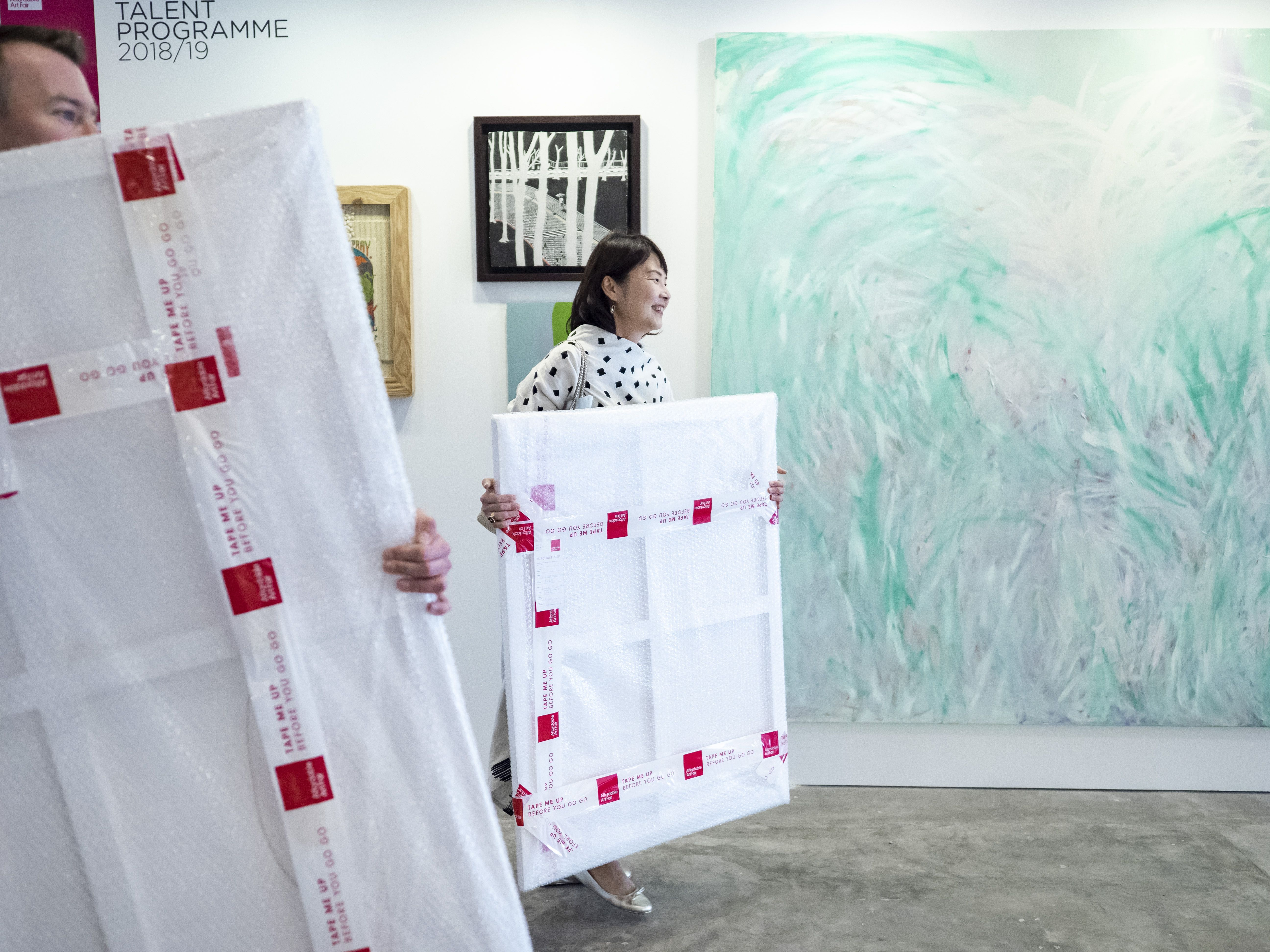 Affordable Art Fair Singapore 2018 Affordableartfair Affordableartfairsingapore Aafsingapore Bringyourhometolif Singapore Art Art Fair Affordable Art Fair