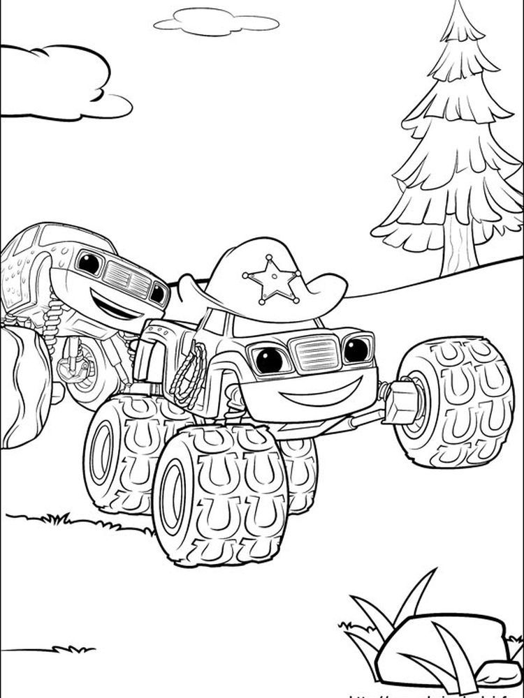 Printable Pickle Starla Blaze And The Monster Machine Is An Animated Television Series That Conta Cartoon Coloring Pages Coloring Pages Nick Jr Coloring Pages