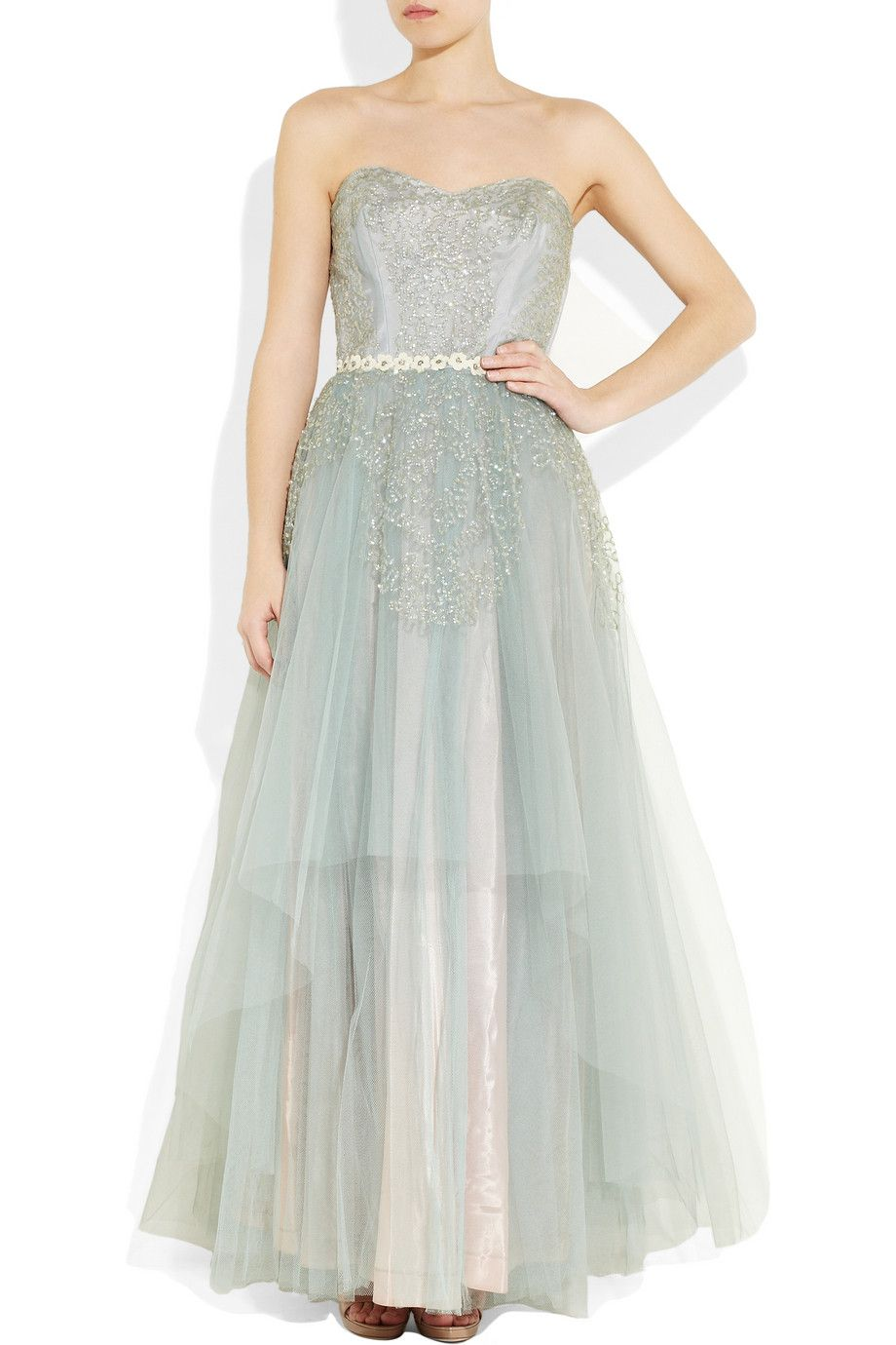 One Vintage | Lavern dress | Winter ball-gown | Clothes | Pinterest ...