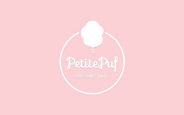 Logo Candy Logo Cotton Candy Identity Logo