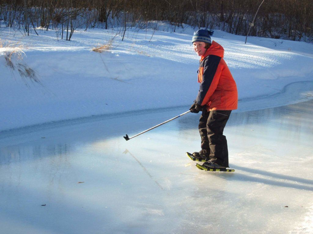 Everything You Need To Know About Snowshoeing With Kids In