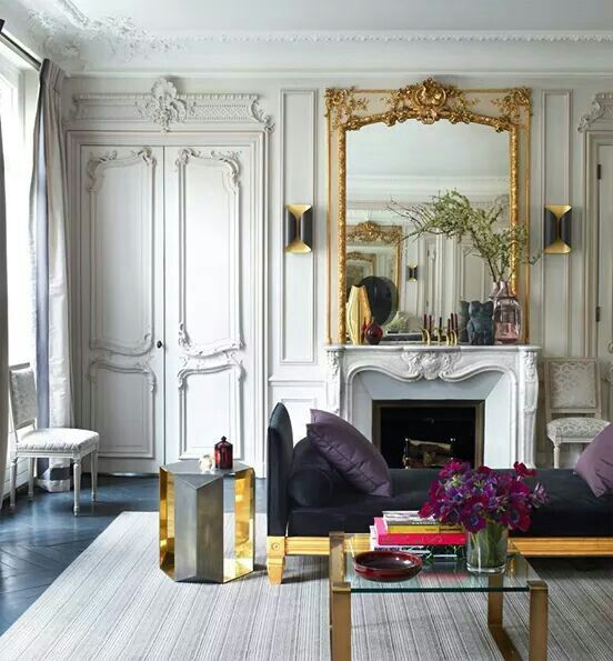 Superior Home Decor. Interior Style And Design A Glamorous Paris Apartment By  Champeau In Elle Decor.