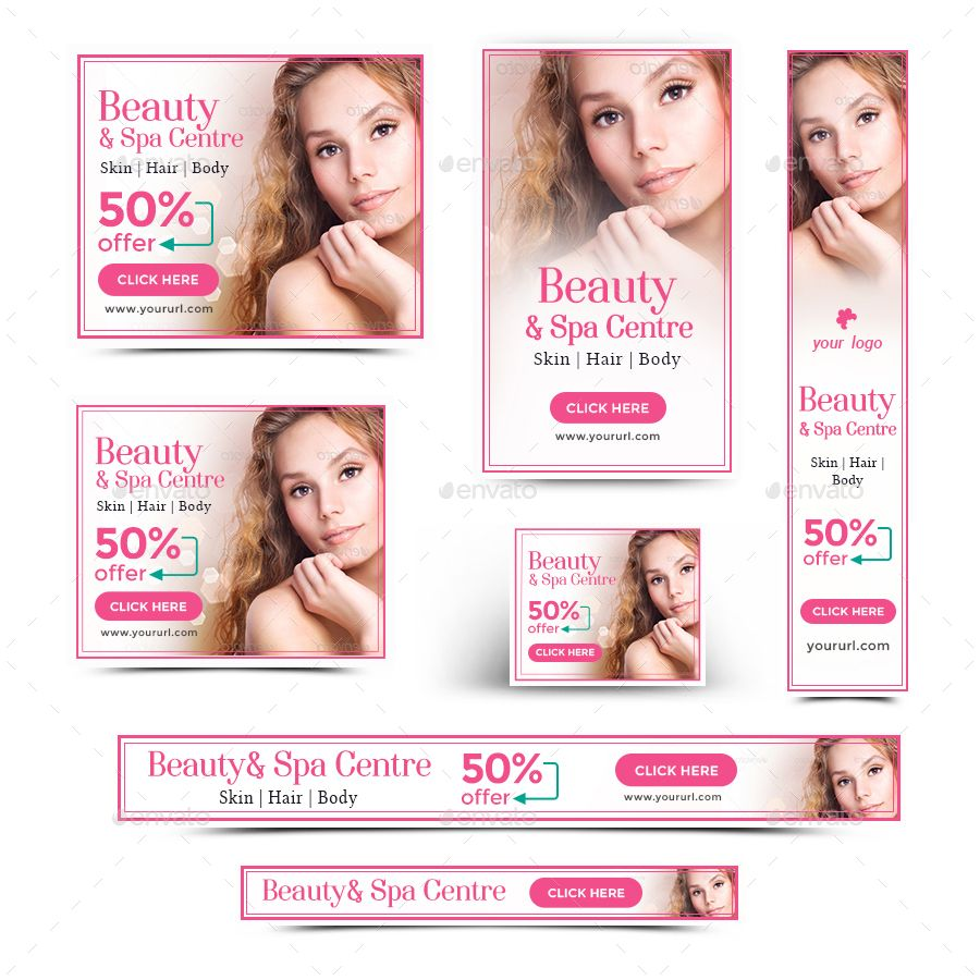 Beauty Spa Banners With Images Beauty Spa Hair Spa Spa