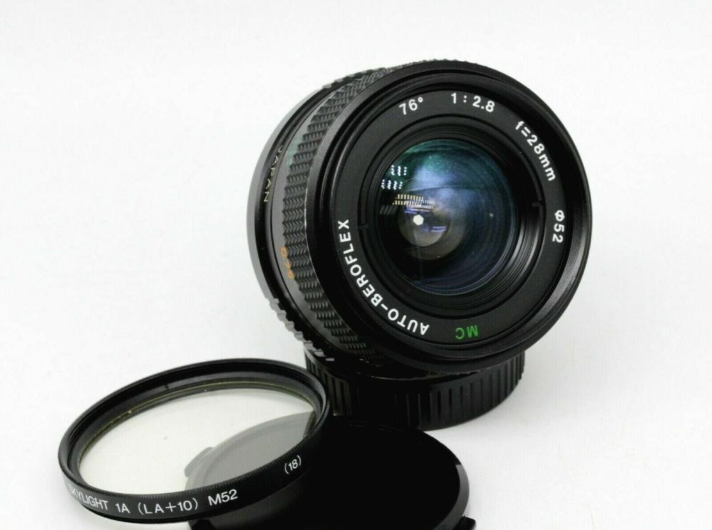 New Nice Mc Auto Beroflex 28mm F2 8 M42 Mount Wide Angle Japan Ber01 Ebay Wide Angle Nikon Coolpix B500 System Camera