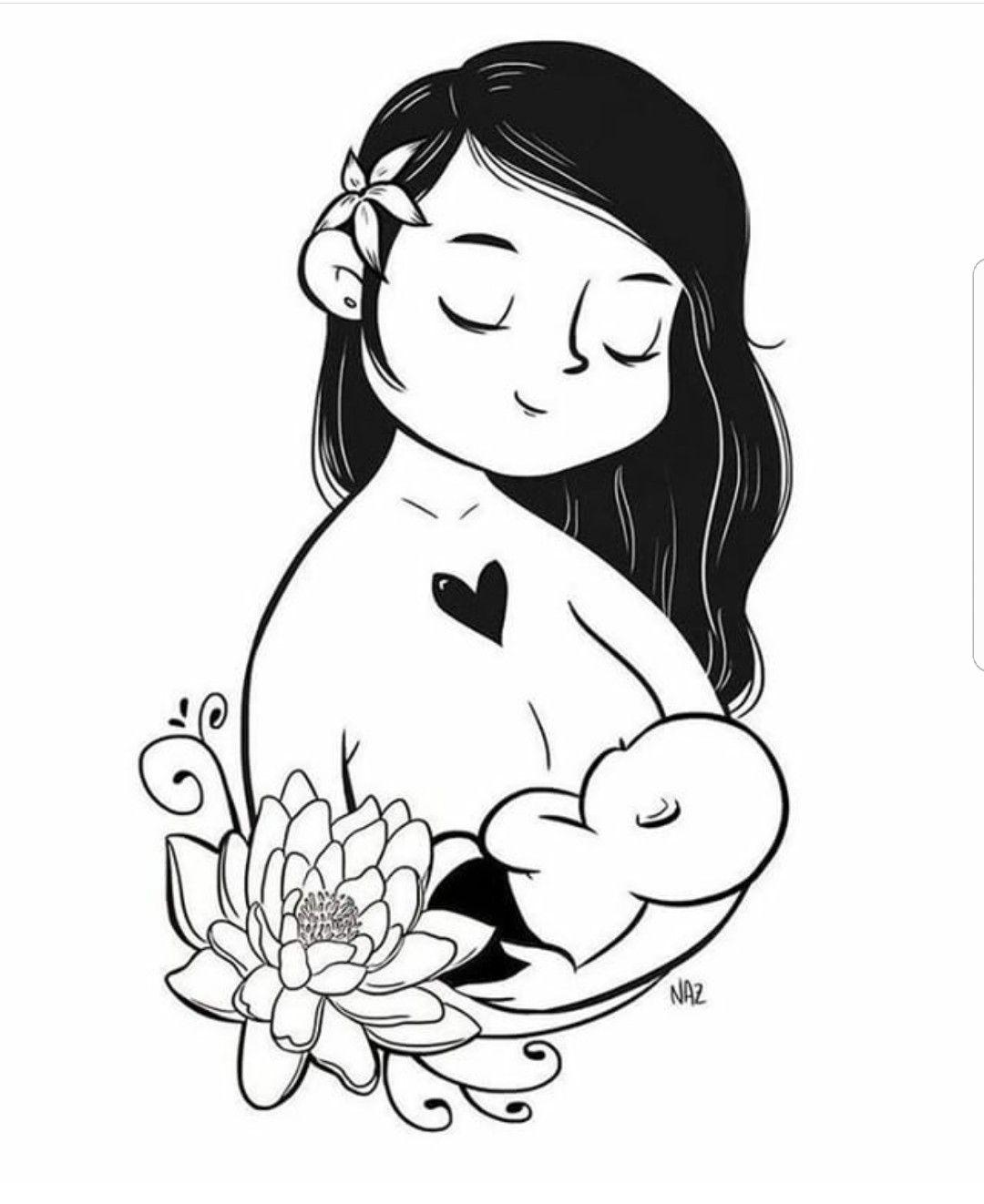 Minha Parte Mais Bonita Meu Eu Imagenes De Lactancia Materna Lactancia Materna Dibujo Para Mama