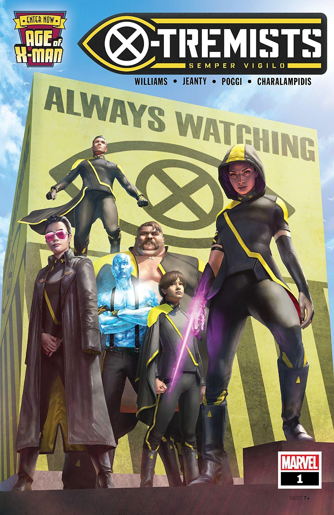 Age Of X Man X Tremists 2019 1 Of 5 W B X Man Comic Books Art Comic Book Cover