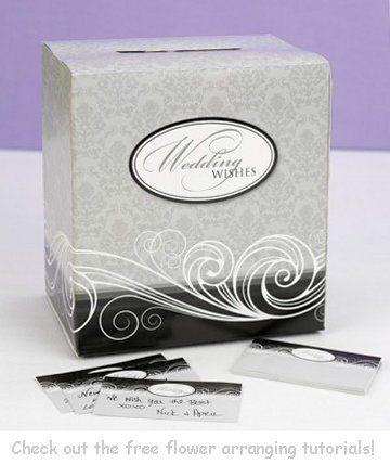 Wedding gift box for reception