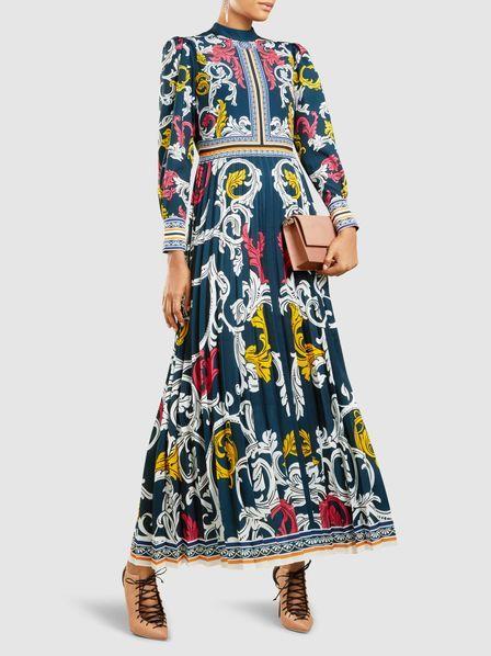 Mizar Long Sleeve Gown Mary Katrantzou lPwgi