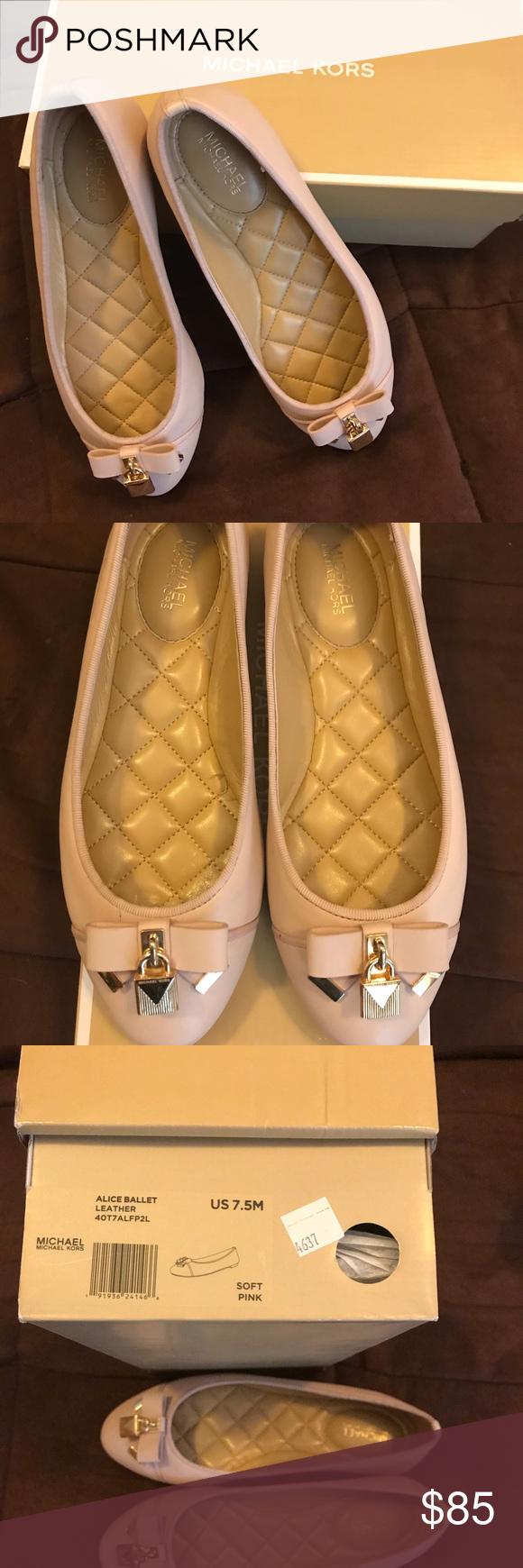 Michael kors ballet shoes