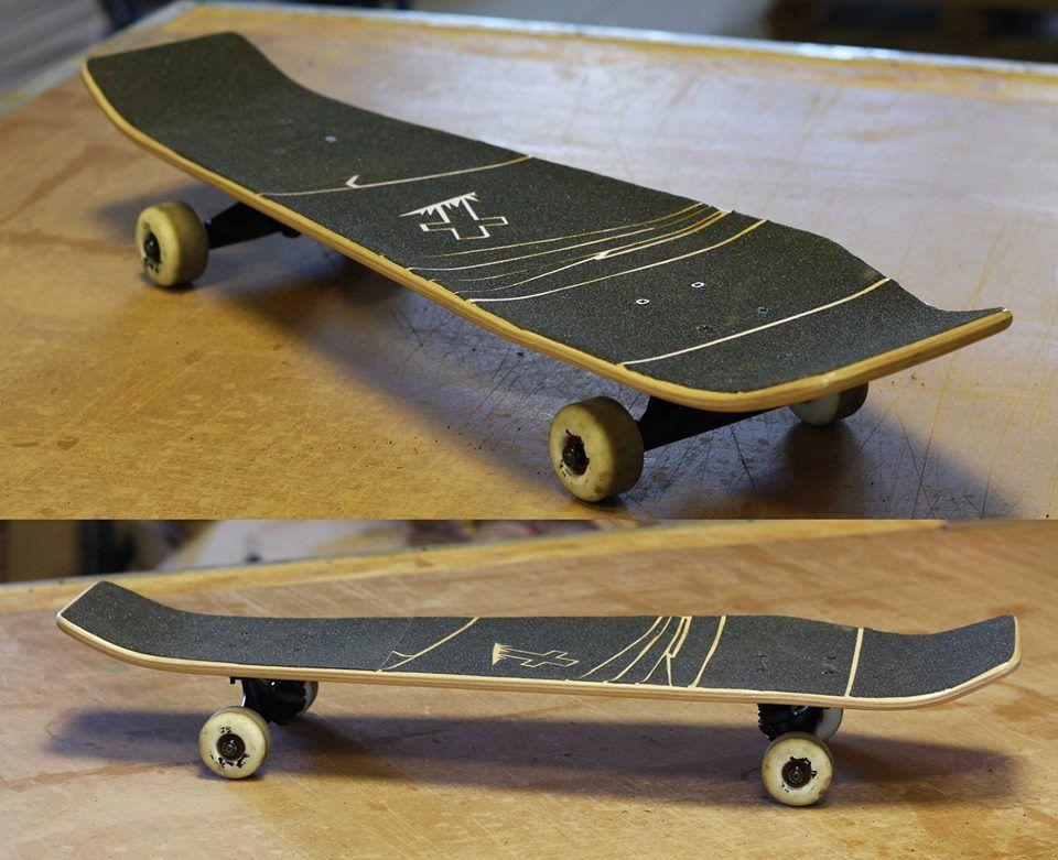 Costume Coffin skateboard using Roarockit thin airpress