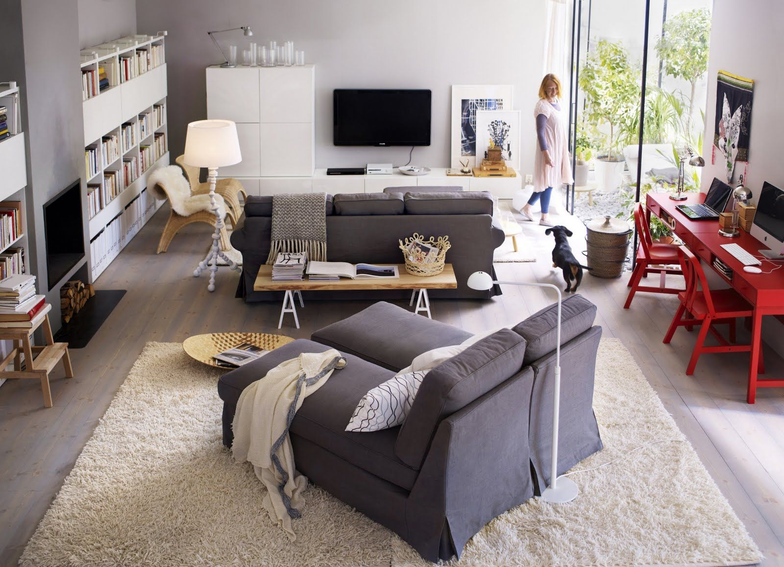 kivik sofa, nothing less for cocooning with my husband in front on ...