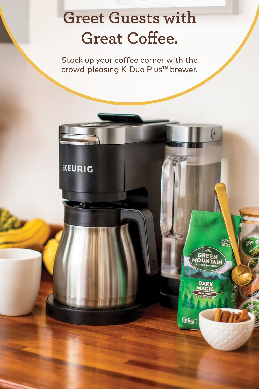 KDuo Plus™ Single Serve & Carafe Coffee Maker Carafe, K