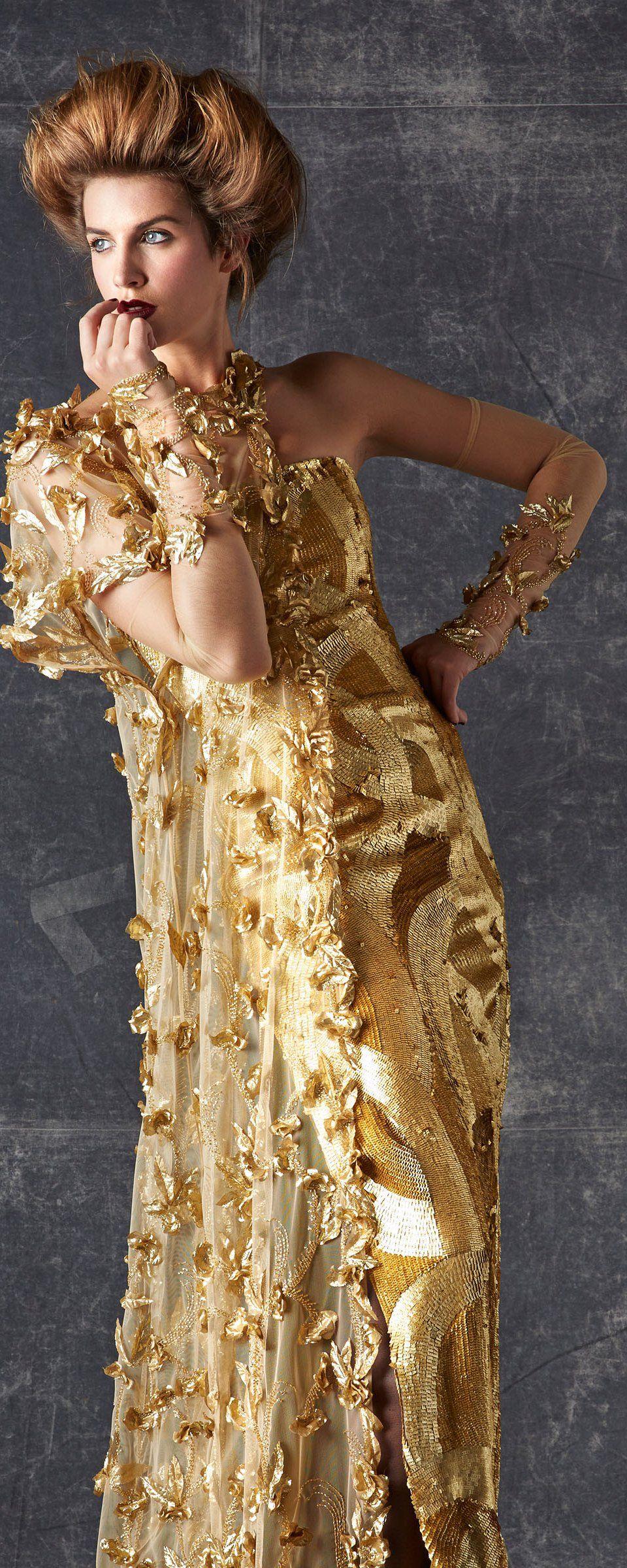 Georges Chakra Automne-hiver 2013-2014 - Haute couture - http://fr.orientpalms.com/georges-chakra-3994