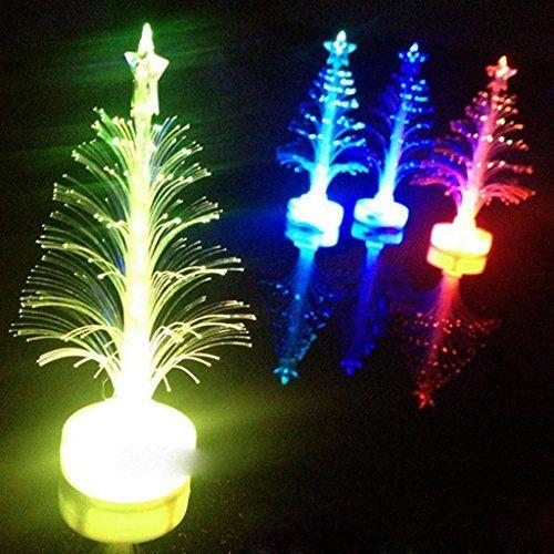 Sunny Hill Decorative Tree New Colorful Fiber Optic Led Colorful