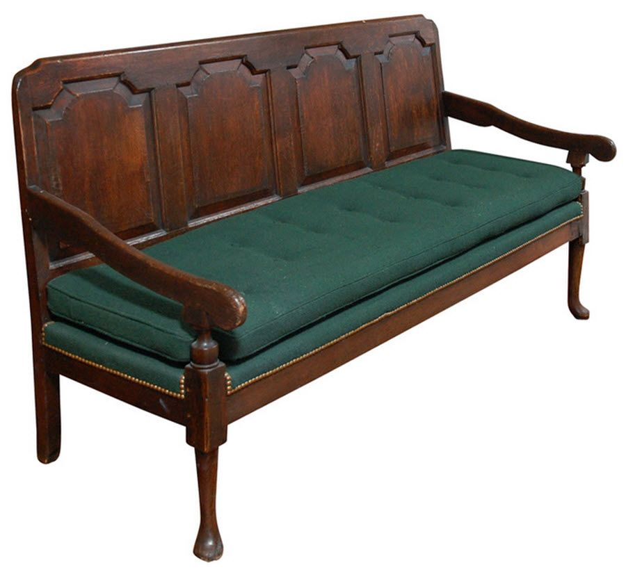 Early American Colonial Bench late 1700\'s   antiques   Pinterest