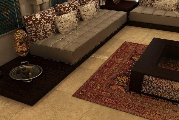 tufted-leather-sofa   Salon marocain   Pinterest   Tufted leather ...