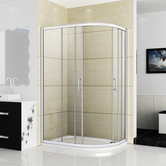 1200x900mm Quadrant Shower Enclosure Matt Silver Stone Tray Click Image To Close Quadrant Shower Enclosures Quadrant Shower Shower Cubicles