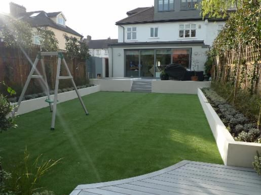 simple low maintenance large garden - Google Search (With ...