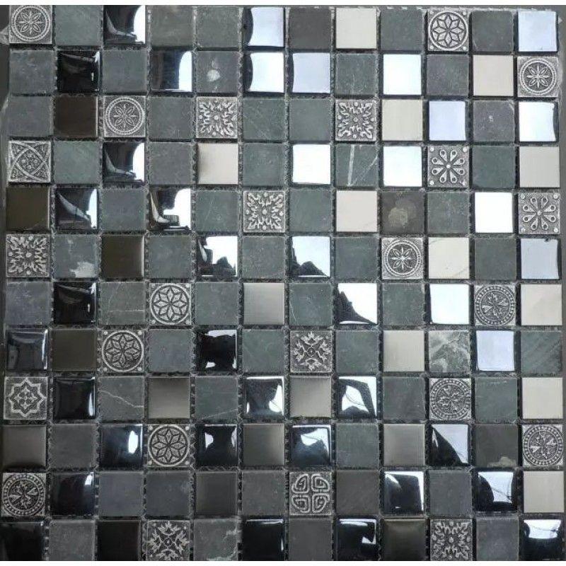 Black Glossy Tile 78 Glass And Stone Wall Backsplash Cheap Kitchen
