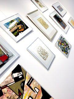 """Und noch mehr Fotos von meiner Ausstellung """"Schnittstelle"""" in Grünwald"""