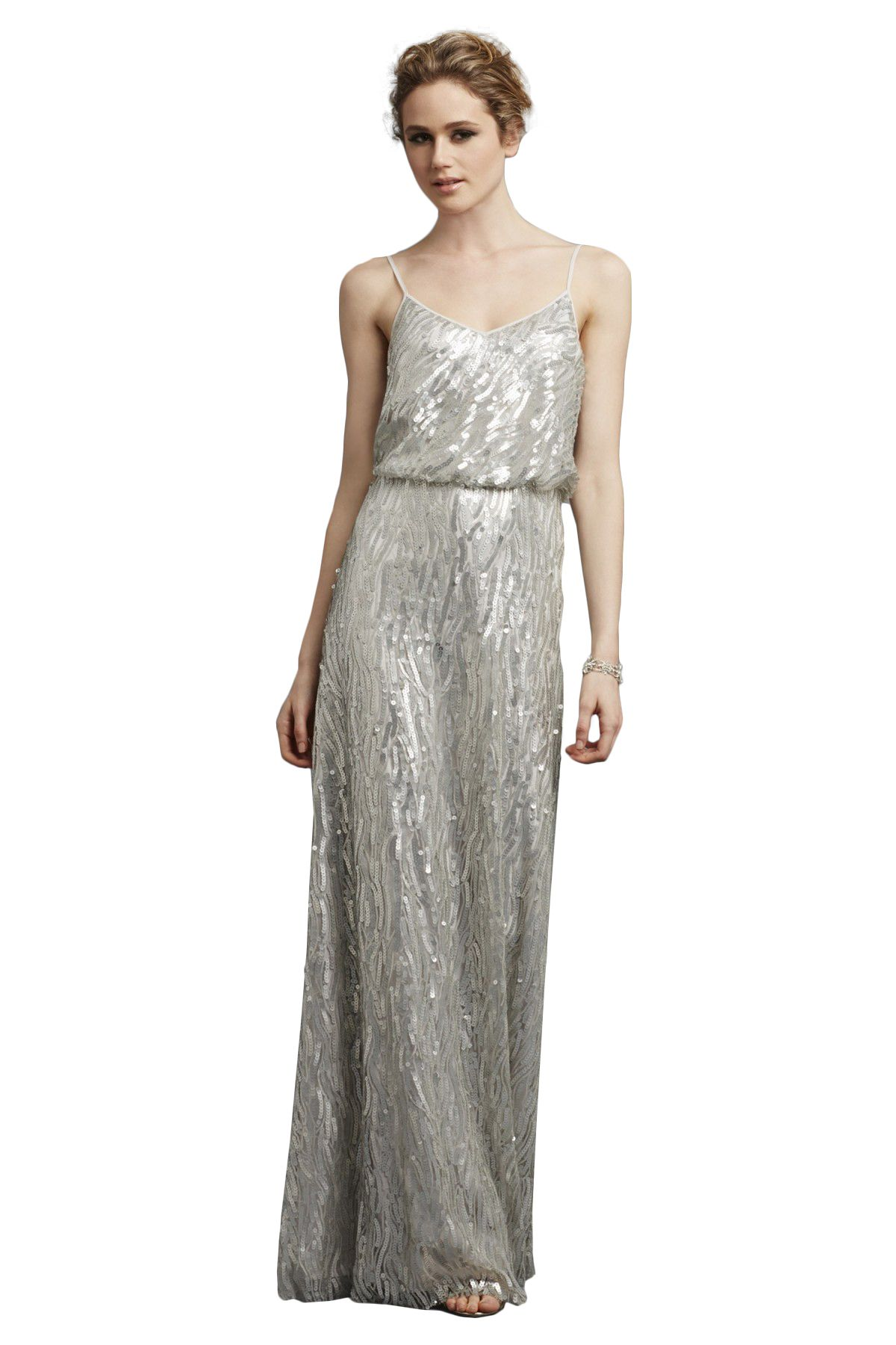 Shop donna morgan quick delivery style courtney in sequin at